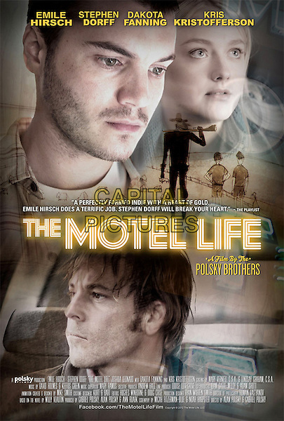 POSTER ART<br /> in The Motel Life (2012) <br /> *Filmstill - Editorial Use Only*<br /> CAP/FB<br /> Image supplied by Capital Pictures