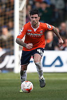 Alan Sheehan of Luton Town during the Sky Bet League 2 match between Luton Town and Crawley Town at Kenilworth Road, Luton, England on 12 March 2016. Photo by David Horn/PRiME Media Images.