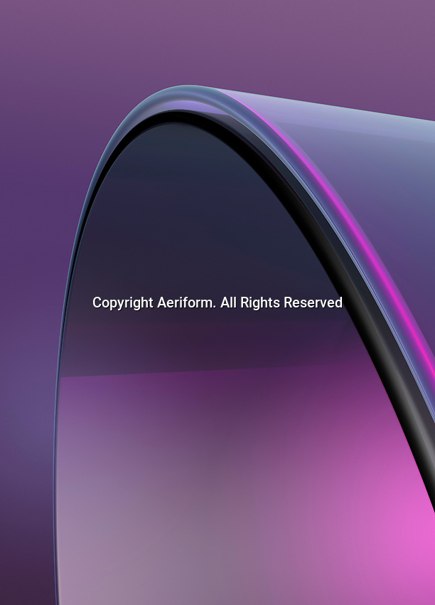Abstract purple curve