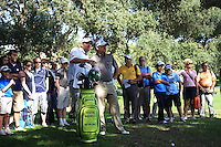 Graeme McDowell (NIR) during the final day of the  Andalucía Masters at Club de Golf Valderrama, Sotogrande, Spain. .Picture Fran Caffrey www.golffile.ie