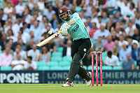 Ben Foakes hits 6 runs for Surrey during Surrey vs Essex Eagles, Vitality Blast T20 Cricket at the Kia Oval on 12th July 2018