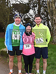 John, Paula and Peter Brtowne who took part in Erin's Run. Photo:Colin Bell/pressphotos.ie