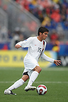 USA midfielder (15) Sal Zizzo. Austria (AUT) defeated the United States (USA) 2-1 in overtime of a FIFA U-20 World Cup quarter-final match at the National Soccer Stadium at Exhibition Place, Toronto, Ontario, Canada, on July 14, 2007.