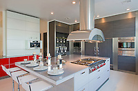 Stock photo of residential kitchen Stock photo of ultra modern residential kitchen