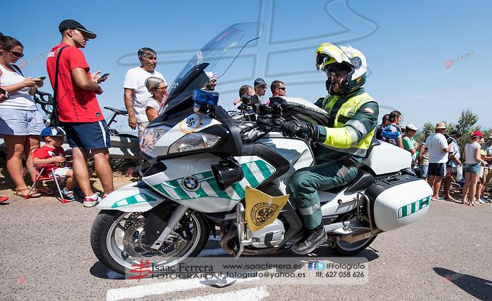 La Vuelta 2017.<br /> <br /> 6a etapa.<br /> <br /> Vila-real - Sagunt.<br /> <br /> Paso por el puerto de 2a categoria de &quot;El Garb&iacute;&quot;.<br /> <br /> 24 de agosto de 2017.<br /> <br /> Puerto de El Garbi.<br /> Segart, Valencia - Espa&ntilde;a.