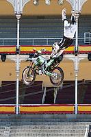 Training Red Bull X-Fighters 2012. Madrid. Rider In the picture Eigo Sato JAP. July 19, 2012. (ALTERPHOTOS/Ricky Blanco) /NortePhoto.com<br />  <br /> **CREDITO*OBLIGATORIO** *No*Venta*A*Terceros*<br /> *No*Sale*So*third* ***No*Se*Permite*Hacer Archivo***No*Sale*So*third*©Imagenes*con derechos*de*autor©todos*reservados*.