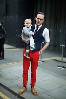 Chris Benns and Oscar