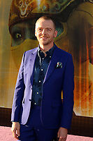 """LOS ANGELES - MAR 26:  Simon Pegg at the """"Ready Player One"""" Premiere at TCL Chinese Theater IMAX on March 26, 2018 in Los Angeles, CA"""