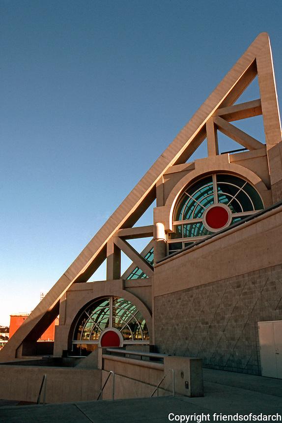 San Diego: San Diego Convention Center, 1989. Photo '90.