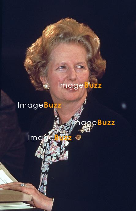 MARGARET THATCHER DIES AGED 87-YEAR-OLD - ARCHIVES PHOTOS. .Margaret Tatcher dies on April 8, 2013...