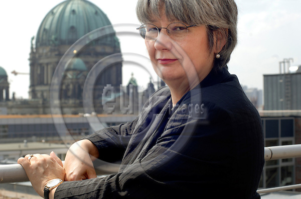BERLIN - GERMANY 7. JULY 2006 -- Vice chairwoman of the Federation of German Trade Unions (DGB) Ingrid Sehrbrock photographed at the DGB headquarters in Berlin. -- PHOTO: GORM K. GAARE / EUP- IMAGES ...
