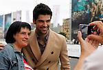 Actor Miguel Angel Muñoz arrives to Maria Cristina Hotel to attend the 61 San Sebastian Film Festival, in San Sebastian, Spain. September 20, 2013. (ALTERPHOTOS/Victor Blanco)