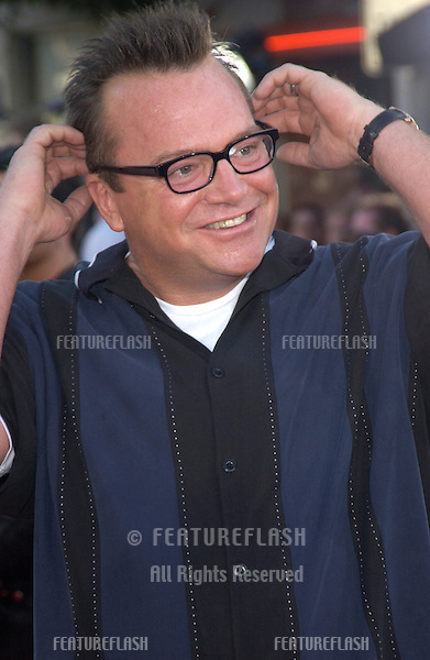 Actor TOM ARNOLD at the world premiere of Terminator 3: Rise of the Machines, in Los Angeles..June 30, 2003