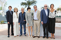Paul Dano - Jane Fonda -  Harvey Keitel - Rachel Weisz - Michael Caine <br /> Festival del Cinema di Cannes 2015<br /> Foto Panoramic / Insidefoto