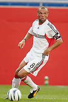D.C. United's Earnie Stewart. The New England Revolution and D.C. United finished in a scoreless tie in MLS play at Gillette Stadium, Foxboro, MA on Saturday August 28, 2004.