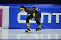 SCHAATSEN: HEERENVEEN; 21-10-2014, IJstadion Thialf, KNSB Trainingswedstrijd, ©foto Martin de Jong