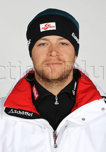16.10.2010  Winter sports OSV Einkleidung Innsbruck Austria. Free Ski Freestyle Skiing OSV Austrian Ski Federation. Picture shows Patrick Koller AUT