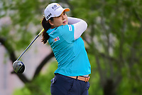 Inbee Park (KOR) watches her tee shot on 3 during round 3 of  the Volunteers of America Texas Shootout Presented by JTBC, at the Las Colinas Country Club in Irving, Texas, USA. 4/29/2017.<br /> Picture: Golffile | Ken Murray<br /> <br /> <br /> All photo usage must carry mandatory copyright credit (&copy; Golffile | Ken Murray)