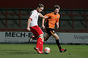 Ben May of Stevenage shoots. - Stevenage v Leyton Orient - npower League 1 - Lamex Stadium, Stevenage - 2nd January 2012  .© Kevin Coleman 2012.