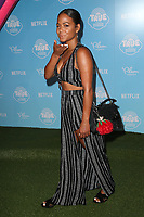 LOS ANGELES, CA - AUGUST 10: Christina Milian at the Netflix Series Premiere Of True And The Rainbow Kingdom at the Pacific Theatres at The Grove in Los Angeles, California on August 10, 2017. Credit: Faye Sadou/MediaPunch