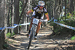 27.07.2013 La Massana, Andorra. UCI Mountain Bike World Cup. Picture show Geoff Kabush (CAN)) in action during Cross-Country Final at Vallnord