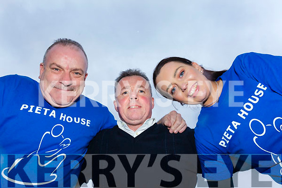 Ted Cronin, Tim Moynihan and Louise Ryan who will do a  Parachute Jump in aid of Pieta House.