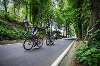 Dries Van Gestel (BEL/Sport Vlaanderen Baloise) in chase of the leaders.<br /> <br /> 71th Halle Ingooigem 2018 (1.1)<br /> 1 Day Race: Halle &gt; Ingooigem (197.7km)