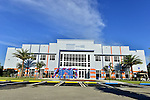 MIAMI GARDENS, FL - MAY 12: Exterior view of the FMU Multi-Purpose Arena during the Opening of  Florida Memorial University's  Multi-Purpose Arena and Wellness Education Center and the Launch of their Health Matters Movement at Florida Memorial University on Thursday May 12, 2016 in Miami Gardens, Florida.  ( Photo by Johnny Louis / jlnphotography.com )