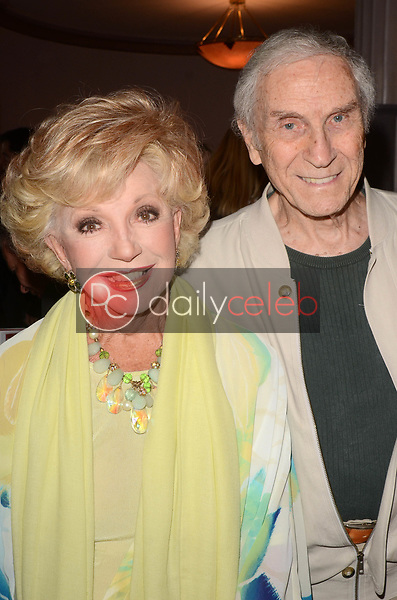 """Ruta Lee, Peter Mark Richman<br /> at Rich Little's signing of  """"People I've Known and Been: Little by Little,"""" honoring George Burns, Johnny Carson and Dean Martin with a display at the Hollywood Museum of the props he has used to impersonate them over the years, The Hollywood Museum, Hollywood, CA 06-01-18<br /> David Edwards/DailyCeleb.com 818-249-4998"""