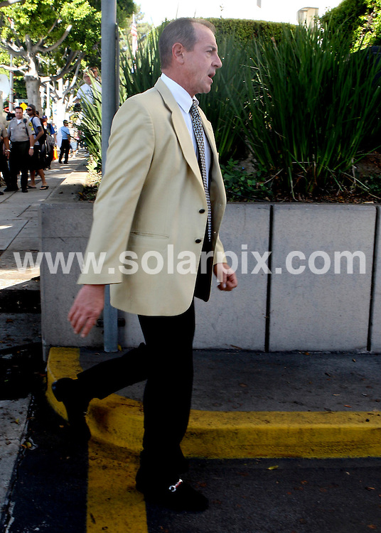 **ALL ROUND PICTURES FROM SOLARPIX.COM**                                             **SYNDICATION RIGHTS FOR UK AND SPAIN ONLY**                                                                                  Caption:   Micharl Lohan looking visuably upset leaving the Beverly Hills court house where Lindsay Lohan was booked and denied bail this morning before being sent back to jail until October 22. Michael addressed the media after the sentencing.                                                                            This pic:     Michael Lohan                                                                                            JOB REF:   12193     STL       DATE:   24.09.10                                                         **MUST CREDIT SOLARPIX.COM OR DOUBLE FEE WILL BE CHARGED**                                                                      **MUST AGREE FEE BEFORE ONLINE USAGE**                               **CALL US ON: +34 952 811 768 or LOW RATE FROM UK 0844 617 7637**