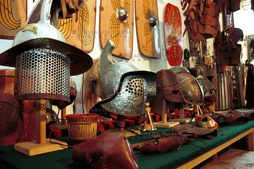 The Gladiator school in Rome