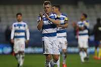 Jake Bidwell of QPR at the final whistle during Queens Park Rangers vs Birmingham City, Sky Bet EFL Championship Football at Loftus Road Stadium on 9th February 2019