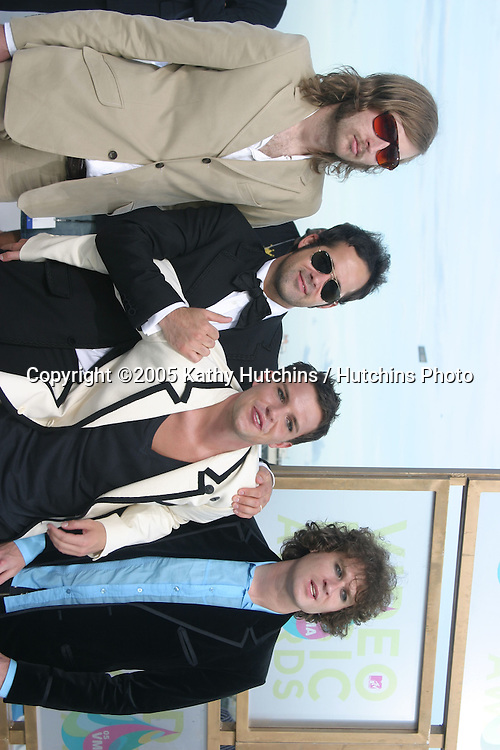 The Killers.MTV Video Music Awards.American Airlines Arena.Miami, FL.August  28, 2005.©2005 Kathy Hutchins / Hutchins Photo....