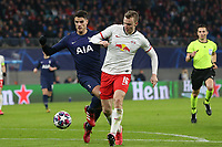 Lukas Klostermann of RB Leipzig and Erik Lamela of Tottenham Hotspur during RB Leipzig vs Tottenham Hotspur, UEFA Champions League Football at the Red Bull Arena on 10th March 2020
