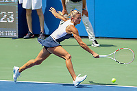 Washington, DC - August 4, 2019:  Camila Giorgi (ITA) could not reach the ball during the Citi Open WTA Singles final at William H.G. FitzGerald Tennis Center in Washington, DC  August 4, 2019.  (Photo by Elliott Brown/Media Images International)