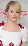 WESTWOOD, CA - JUNE 28: Emma Stone arrives at the Los Angeles premiere of 'The Amazing Spiderman' at Regency Village Theatre on June 28, 2012 in Westwood, California.