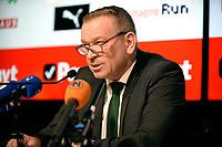 GRONINGEN - Voetbal Persconferentie  vertrek Directeur Hans Nijland,12-11-2018,