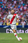 Jordi Amat Maas of Rayo Vallecano in action during the La Liga 2018-19 match between Atletico de Madrid and Rayo Vallecano at Wanda Metropolitano on August 25 2018 in Madrid, Spain. Photo by Diego Souto / Power Sport Images
