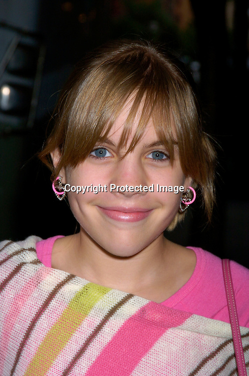 Kristen  Alderson  ..at Prohibition Night Club  for the Gabriel Project Benefit on June 5, 2004 in New York Citiy. The Gabriel Project provides heart surgery for children from developing countries.                                                                                Photo by Robin Platzer, Twin Images