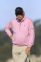 Dermot Desmond (IRL) on the 7th green during Sunday's Final Round of the 2018 AT&amp;T Pebble Beach Pro-Am, held on Pebble Beach Golf Course, Monterey,  California, USA. 11th February 2018.<br /> Picture: Eoin Clarke | Golffile<br /> <br /> <br /> All photos usage must carry mandatory copyright credit (&copy; Golffile | Eoin Clarke)