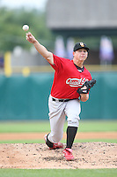 September 5, 2009: Kevin Thomas of the Quad City River Bandits. The River Bandits are the Midwest League affiliate for the St. Louis Cardinals. Photo by: Chris Proctor/Four Seam Images