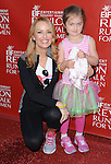 Brooke Anderson and daughter arriving at the '21st Annual EIF Revlon Run Walk for Women' held at Los Angeles Memorial Coliseum May 10, 2014.
