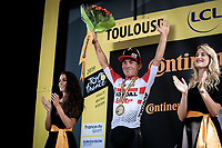 stage winner Caleb Ewan (AUS/Lotto Soudal) <br /> <br /> Stage 11: Albi to Toulouse (167km)<br /> 106th Tour de France 2019 (2.UWT)<br /> <br /> ©kramon