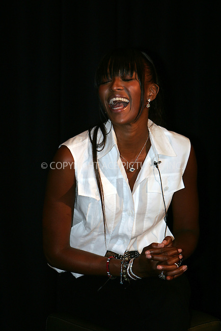 WWW.ACEPIXS.COM . . .  ....September 14 2007, New York City....Model Naomi Campbell speaking at the 'Blacks In Fashion' panel discussion at the Bryant Park Hotel in midtown Manhattan.......Please byline: DAVID MURPHY - ACEPIXS.COM.. *** ***  ..Ace Pictures, Inc:  ..Tel: 646 769 0430..e-mail: info@acepixs.com..web: http://www.acepixs.com