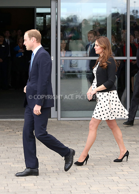 WWW.ACEPIXS.COM....US Sales Only....April 26 2013, Leavesden, England......Prince William and Kate Middleton, Catherine, Duchess of Cambridge at the Inauguration of Warner Bros. Studios on April 26 2013 in Leavesden, England......By Line: Famous/ACE Pictures......ACE Pictures, Inc...tel: 646 769 0430..Email: info@acepixs.com..www.acepixs.com