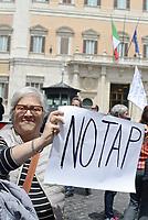 Roma, 11 Maggio 2017<br /> Manifestazione a Roma dei Sindaci Salentini a Montecitorio contro il Gasdotto Tap