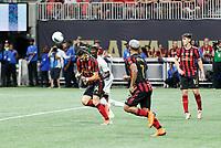 ATLANTA, Georgia - August 27: Justin Meram #14 during the 2019 U.S. Open Cup Final between Atlanta United and Minnesota United at Mercedes-Benz Stadium on August 27, 2019 in Atlanta, Georgia.