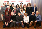 """The cast and creative team attend the """"Indecent"""" Media Day at Playwrights Horizons on March 13, 2017 in New York City."""