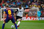 Ruben Vezo, FC Barcelona 2 a 1 Valencia FC Jornada 32 de liga, 14 Abril 2018, Estadio Camp Nou, Barcelona. Photo Martin Seras Lima