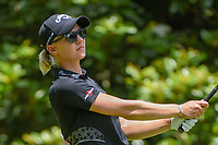 Madelene Sagstrom (SWE) watches her tee shot on 3 during round 4 of the U.S. Women's Open Championship, Shoal Creek Country Club, at Birmingham, Alabama, USA. 6/3/2018.<br /> Picture: Golffile | Ken Murray<br /> <br /> All photo usage must carry mandatory copyright credit (&copy; Golffile | Ken Murray)